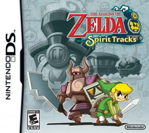The Legend of Zelda Spirit Tracks - Box Art