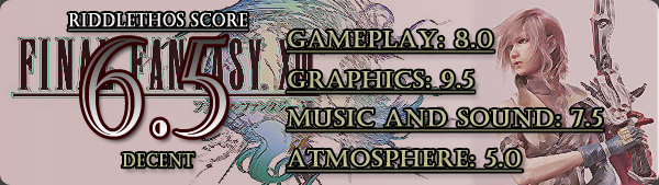 Final Fantasy XIII - 6.5/10