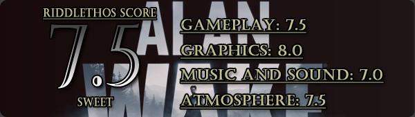 Alan Wake - 7.5/10
